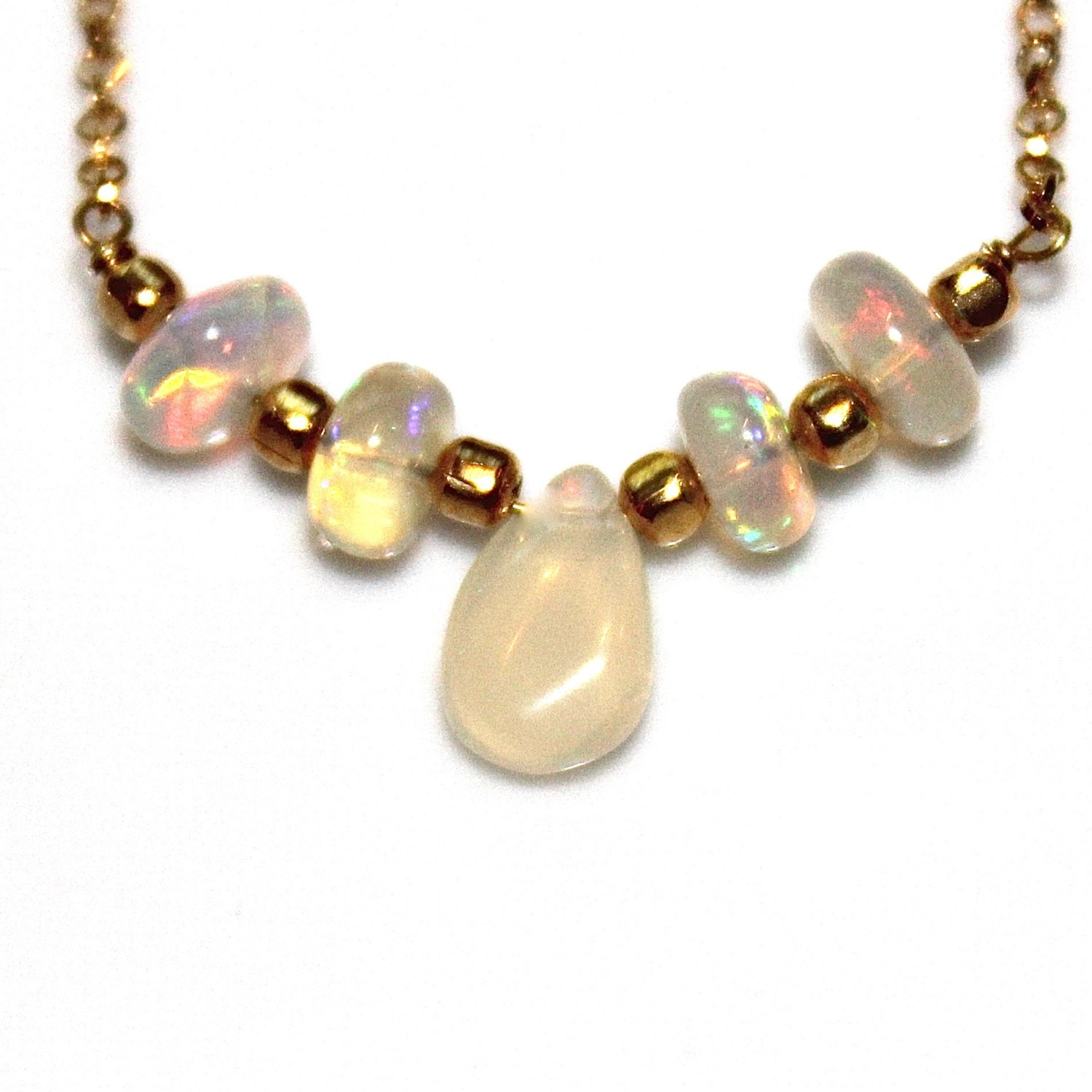 big opal necklace ethiopian opal necklace opal jewelry simple