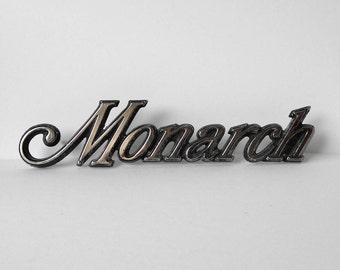 Mercury Monarch Car Emblem Badge Escutcheon Ford 53224 0 D54 B 2MC