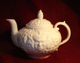 Belleek Bacchus Teapot, 3rd Green Mark