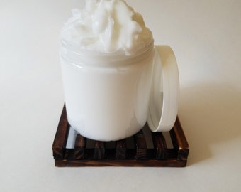 Egyptian Musk  - Scented Shea Butter Cream Lotion  - 8 oz Jar - Free Shipping!
