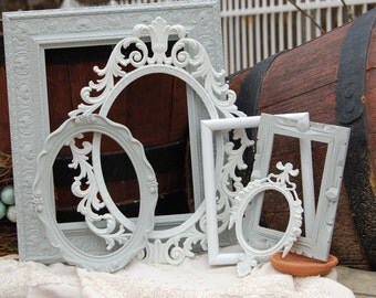 Shabby Chic Picture Frames - Frame Collage - Picture Frame - Custom Picture Frames