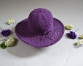 Large Brim Hats for Her, handmade hat with wire brim, winter hat, beach hat, sun hat, farming, garden, mothers day gift, february birthday