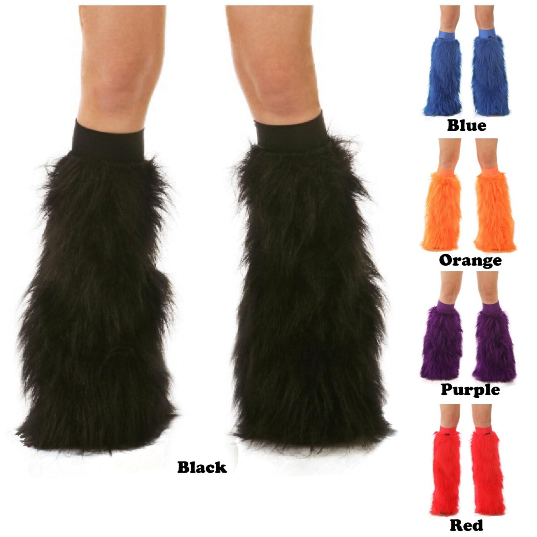 TrYptiX Rave Fluffies Furry Leg Warmers Fluffy Leg Warmers