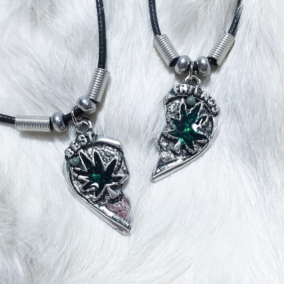 BFF weed stoner necklaces 90s vintage dead stock by COOLKOALA