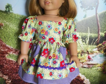 18 Inch Doll Clothes, Dress