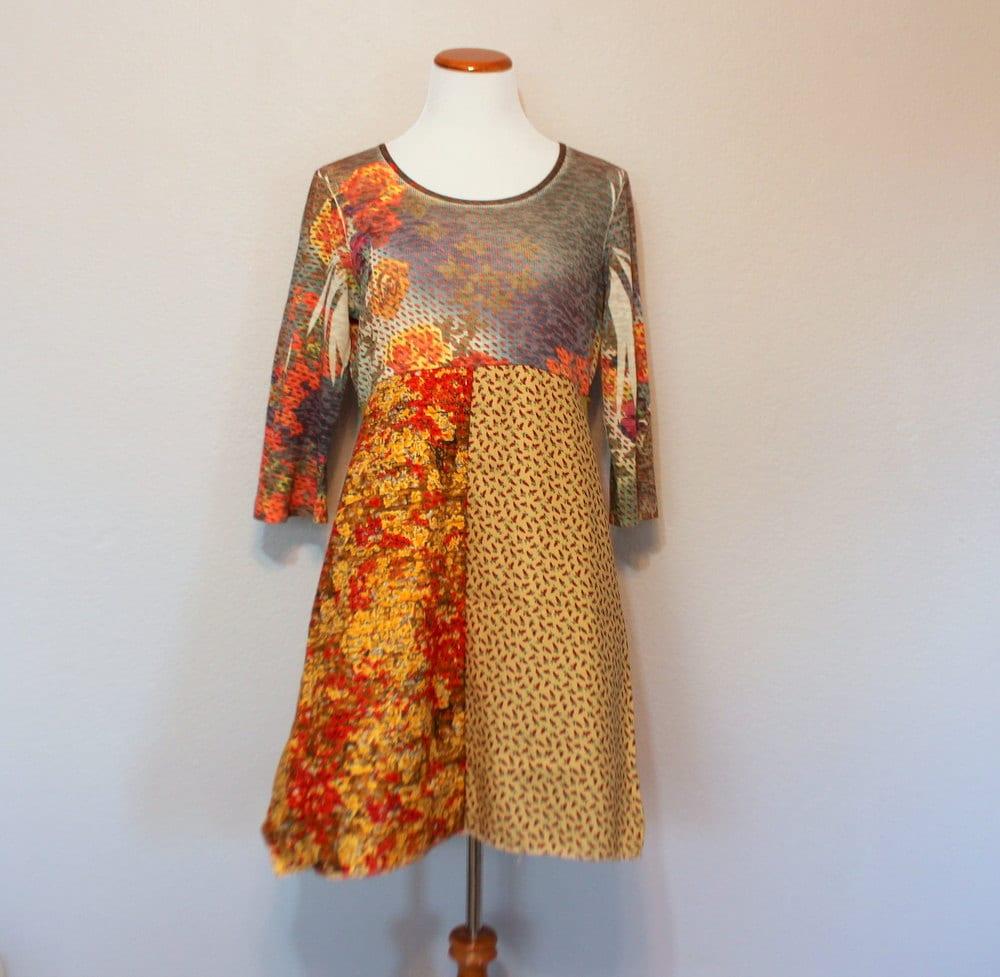 Bohemian Hippie Clothing Women's Junior's Funky Dress