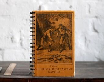 """Spiral Bound Notebook Tartuensis College """"Jules Verne"""", Original Travel Journal"""