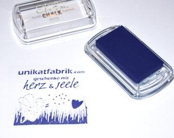 Dark Blue / Blue Iris Chalk ink pad mini