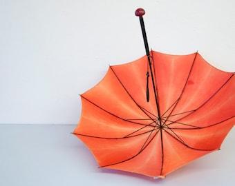 Set of Two Vintage Bakelite Art Deco Umbrellas