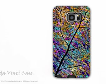 Samsung Galaxy Note 5 Case - Beautiful dual layer Galaxy Note 5 Case with Colorful Aspen Leaf Art - Stained Aspen - Premium Dual Layer Case