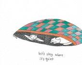 quiet (drawing)