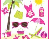 Beach Clipart summer,nautical , sunglasses,Clipart, png formats , Clip Art,Element,bath,duck,Instant Downloads