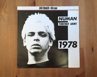 Gary Numan / Tubeway Army - 1978 - Beggars Banquet UK - Yellow Vinyl - Vintage