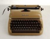 Typewriter Optima Elite brown
