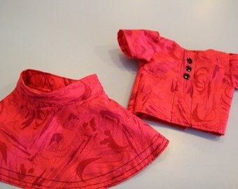 American Girl Red Doll Dress