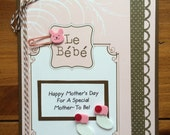 Custom Order For KZ-Mother's Day Card For Mom-TO-Be