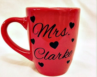 Custom Mrs. Mug-