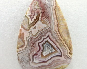 Mexican Lace Agate Cabochon