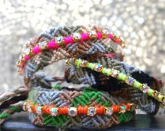 Army Rock Bracelet.