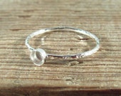 Wholesale Blank Rings 3, 4, 5, 6mm Silver Chisled Band - Wholesale Ring, Blank Band Ring, Silver Band Ring, Design Your Ring, DIY Jewelry