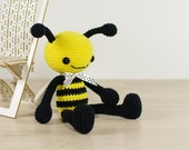 Amigurumi bee - Crocheted soft toy