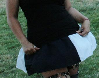 Harlequin Mini Skirt