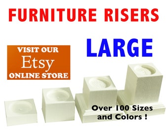 LARGE Furniture Risers, Bed Lifters