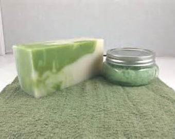 Fresh Crisp Aloe-Goat's Milk Soap Loaf