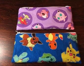 Pokemon Coin or Pencil/Makeup Bag