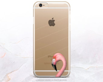 iPhone 8 Case iPhone X Case iPhone 7 Case Flamingo Clear GRIP Rubber Case iPhone 7 Plus Clear Case iPhone SE Case Samsung S8 Plus Case U86