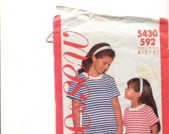 See&Sew 5430 592 Girls dress