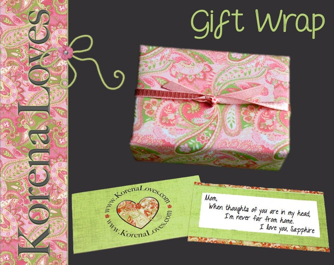 Korena Loves Gift Wrap Upgrade