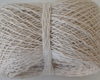 Linen Yarn Reclaimed Yarn Natural