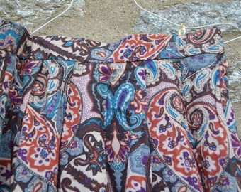 ON SALE  Paisley Skirt from Koret Size 8