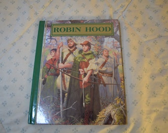 ON SALE   Book-Robin Hood Adapted from the novel by J. Walker McSpadden