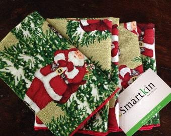 Santa Napkin by Smartkin
