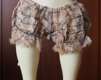 Swan20 Designs Shorts Bloomers 010 for SLim Doll Chateau MSD Doll BJD Dollfie