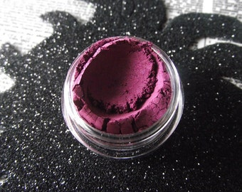 Mulled Wine - Halloween 2016 Collection - Muted Plum Berry Purple Shimmer Eyeshadow - Gothic Goth - Vegan Makeup - Pastel Goth - Fall