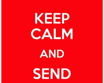 5 KEEP CALM and Send Postcards