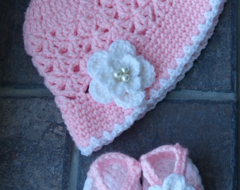 Pink and Pearls for Little Girls