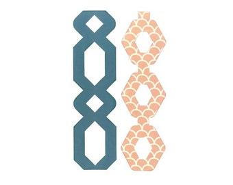 Sizzix - Bigz Plus Die - Chains by Katelyn Lizardi