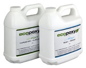 Ecopoxy UV.4 Litres You have found a safe, Environmentally Friendly, Low Odor, Plant based Epoxy. Needs no ventilation. Casting resin.