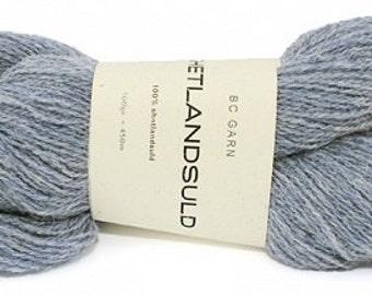 BC Garn wool yarn Shetlandsuld, 100% wool - 52