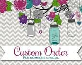 Custom Order for Emily - 11 Shot Glasses