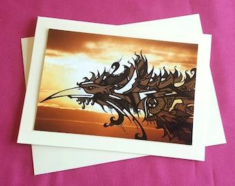Phoenix Rising - Greeting Card