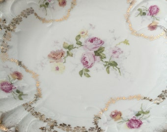 Beautiful vintage serving plate