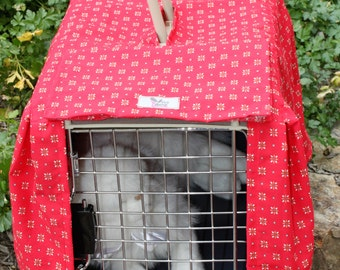 Pet carrier cover case . Fits carrier 34 cm wide x 50 cm depth x 32 cm high . This is a Sure Pet Carrier .