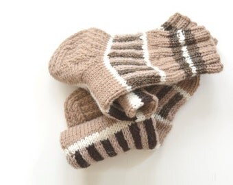 Women socks CHOCOLATE BAR / knitted socks / woolen socks / winter socks / warm socks / winter gifts / Christmas gifts / gifts for her