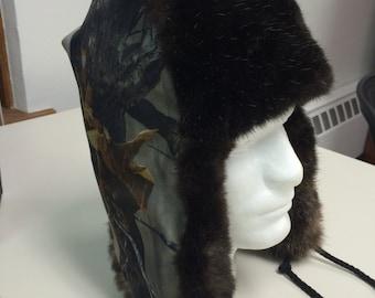 Real Tree Camo Gortex Trapper Hat