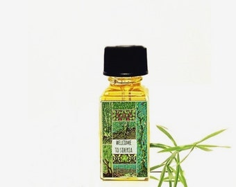 "Natural Perfume oil ""Siberia"" Refreshing Pine and Fir Forest Natural Botanical Perfume 5 ml cruelty free vegan"